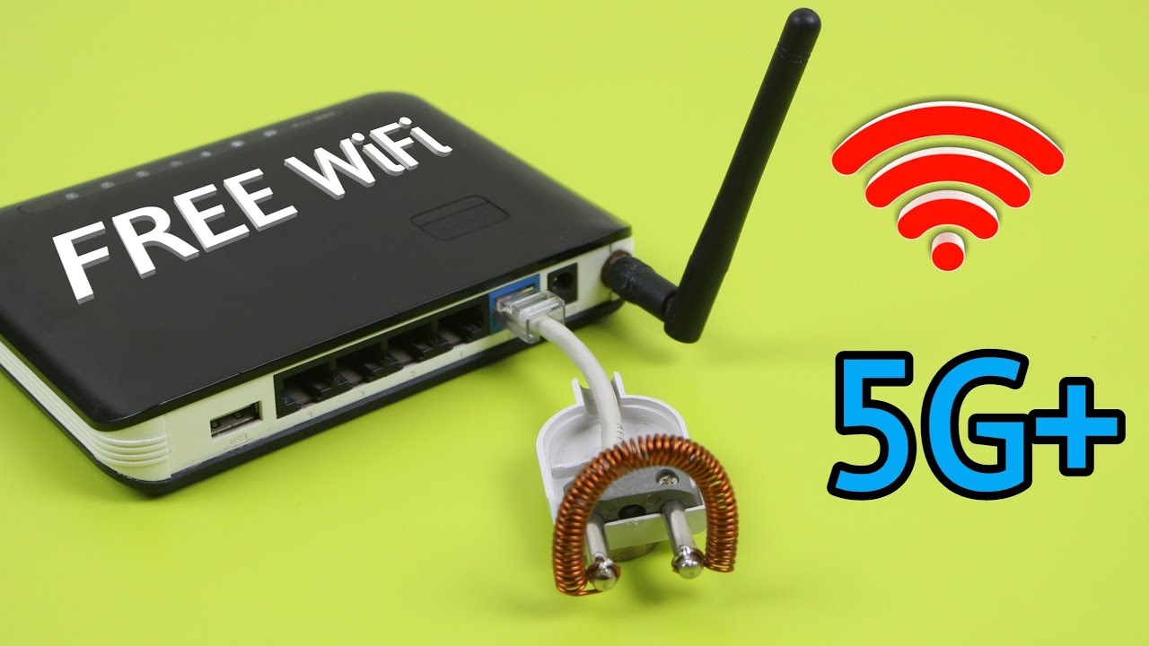 Use Free WiFi at Home - Awesome ideas Free internet