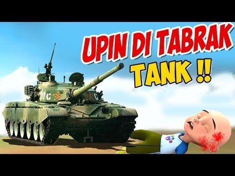 upin-ipin-ditabrak-tank-tentara-,-ipin-sedih-!-gta-lucu