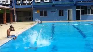 Swimming in Pusat Belia