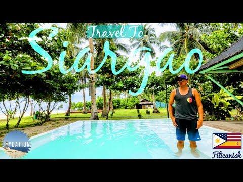 CEBU to SIARGAO PHILIPPINES TRAVEL VLOG
