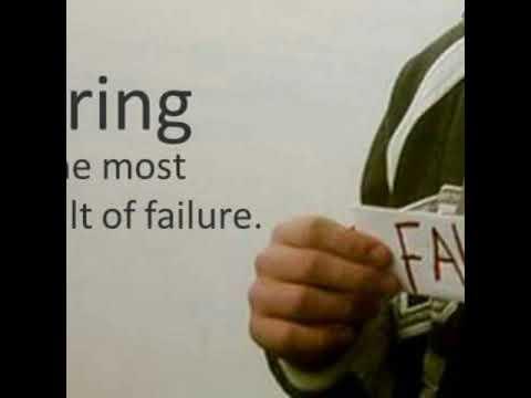 Benefits of failure- Juan Paredes