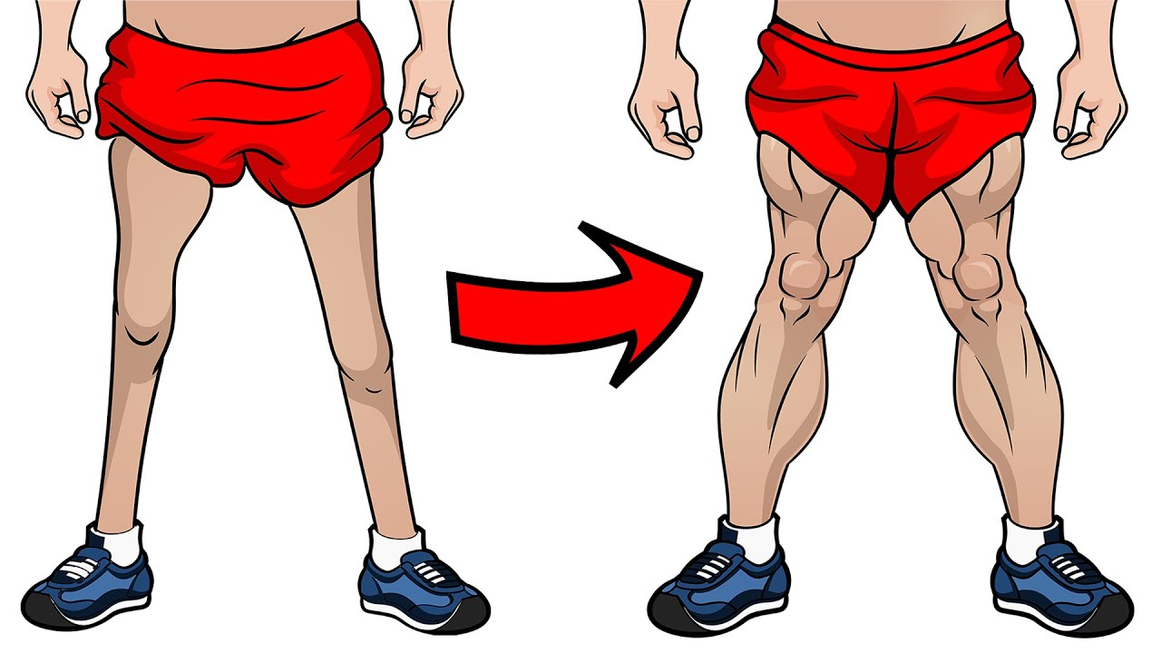 Get Muscular Legs From Home Without Weights (RESULTS IN 30 DAYS)