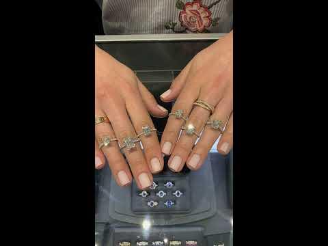 Radiant Cut Diamond Rings From Lauren B IGTV