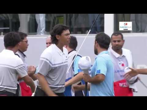 2018 EurAsia Cup presented by DRB-HICOM - Saturday Foursomes highlights