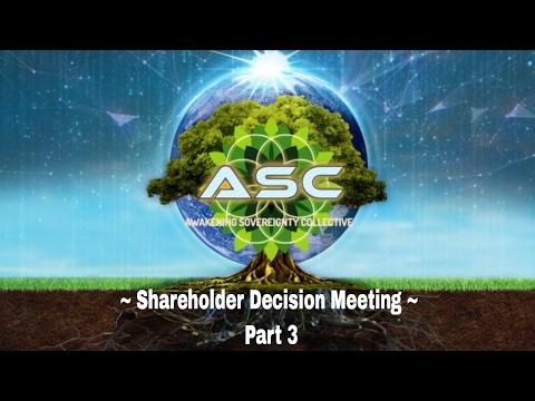 Tribe of Awakening Sovereignty- Shareholder Decision Meeting Part 3  2/18/17