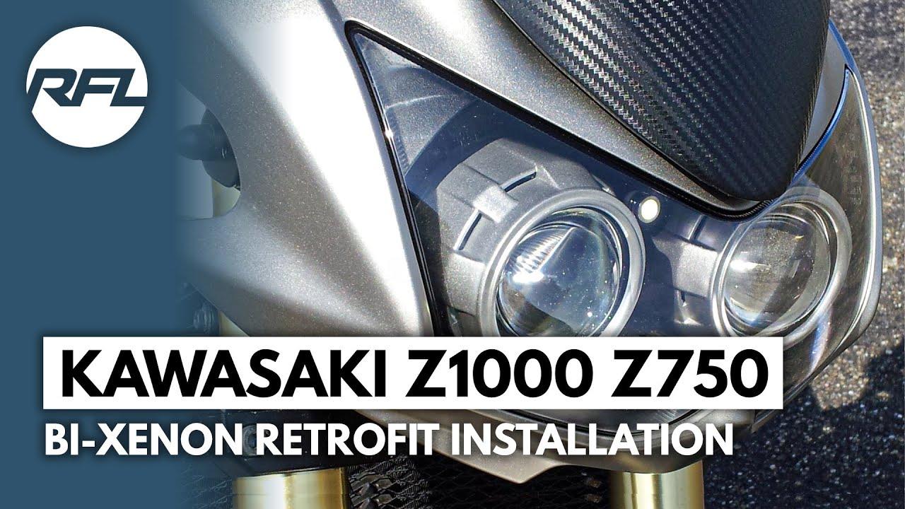 Headlight Unit for Kawasaki Z 1000 07-09