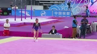 Shang Chunsong - FX EF - 2019 CHN Nationals Zhaoqing