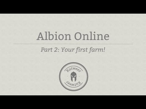 Albion Online - Private island; Your first farm (Ep.2)