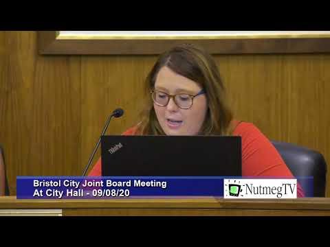 Bristol City Council Meeting - 9/8/20