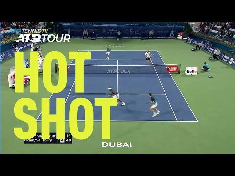 Hot Shot: You Have To See This Rally In The 2019 Dubai Doubles Final