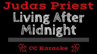 Judas Priest Living After Midnight Live CC Karaoke Instrumental Lyrics