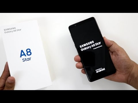 Samsung Galaxy A8 Star Unboxing And Overview I Hindi