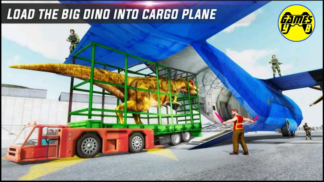 Dino Transport Truck Plane & Ship: Dinosaur Transport Game - Android Gameplay FullHD