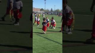 jayvin s touchdown 5u flag football