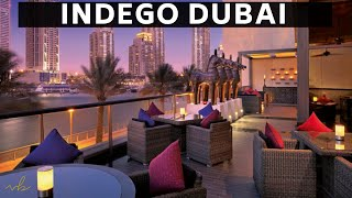 A look inside Indego Dubai | Indian Michelin Star Chef Vineet Bhatia