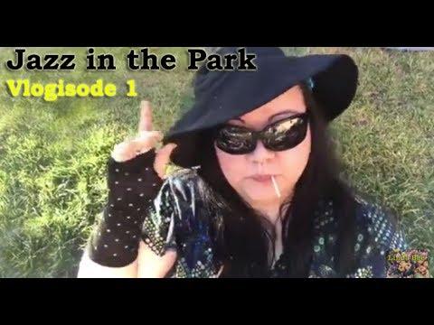 Jazz in the Park(random Sprinklers came on!) vlogisode 1