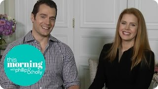 Henry Cavill And Amy Adams On Batman V Superman | This Morning
