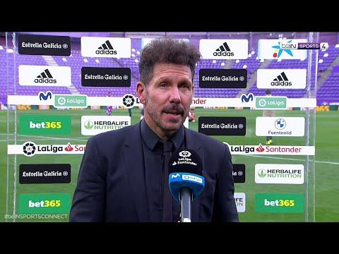 """Simeone - """" Que salga campeón el Atleti es diferente"""""""