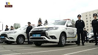 Патрульні поліцейські отримали 83 сучасних японських кросовери