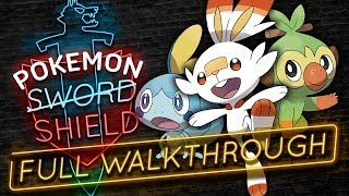 Pokemon Sword and Shield FULL PLAYTHROUGH! ⚔️🛡️