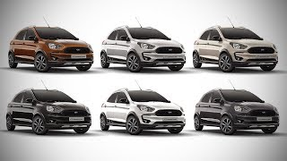 2018 Ford Freestyle - All Colour Options - Images | AUTOBICS