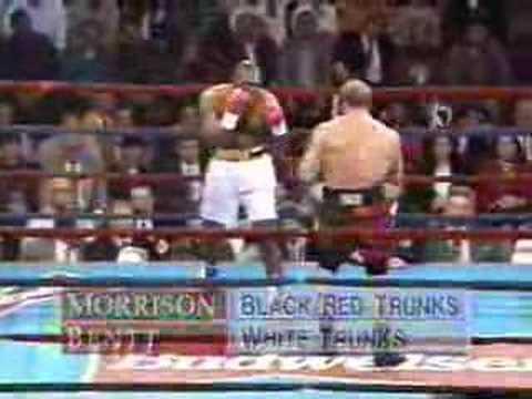 Tommy Morrison vs. Michael Bentt