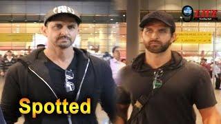 Handsome Hunk Hrithik Roshan Spotted at Mumbai Airport | Next9Life