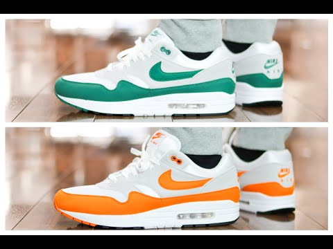 air max 1 hunter green