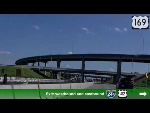 Southbound US Highway 169, Tulsa, OK