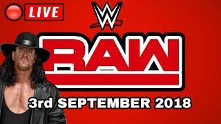 🔴 WWE Raw September 3rd 2018 Live Stream - Full Show Live Reactions