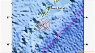 M 6.0 EARTHQUAKE - KURIL ISLANDS 09/09/12
