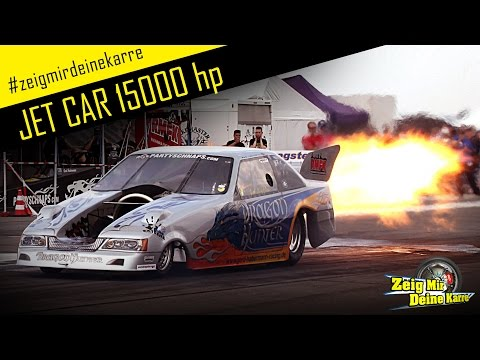 JET CAR - 15000 HP!!! - Drag Racing Special