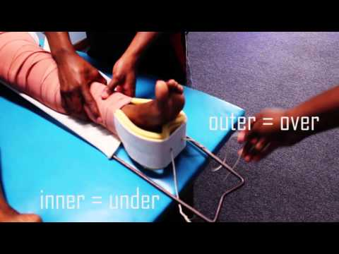 Thomas Traction Splint for femur fractures - orthopaedic teaching video Cape Town