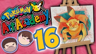 Pokemon Art Academy: Death and Pickles - PART 16 - Grumpcade