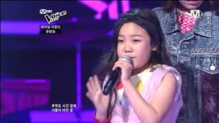 보이스 키즈 - [엠넷보이스키즈파이널] 김민경,김초은,허성주 - Anymore(서인영)