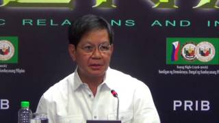 Lacson: We have divorce in the Philippines