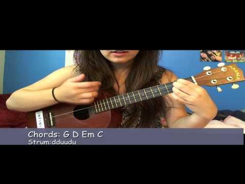 Unpredictable 5sos ukulele tutorial