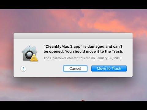 How to solve CleanMyMac damaged and needs to be moved to the trash