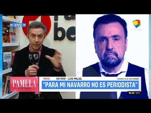 """Luis Majul en el """"Pamela a la tarde"""" de P.David - 22/09/17"""