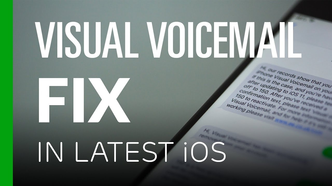 Visual Voicemail Broken or Disappeared? - How To Fix It