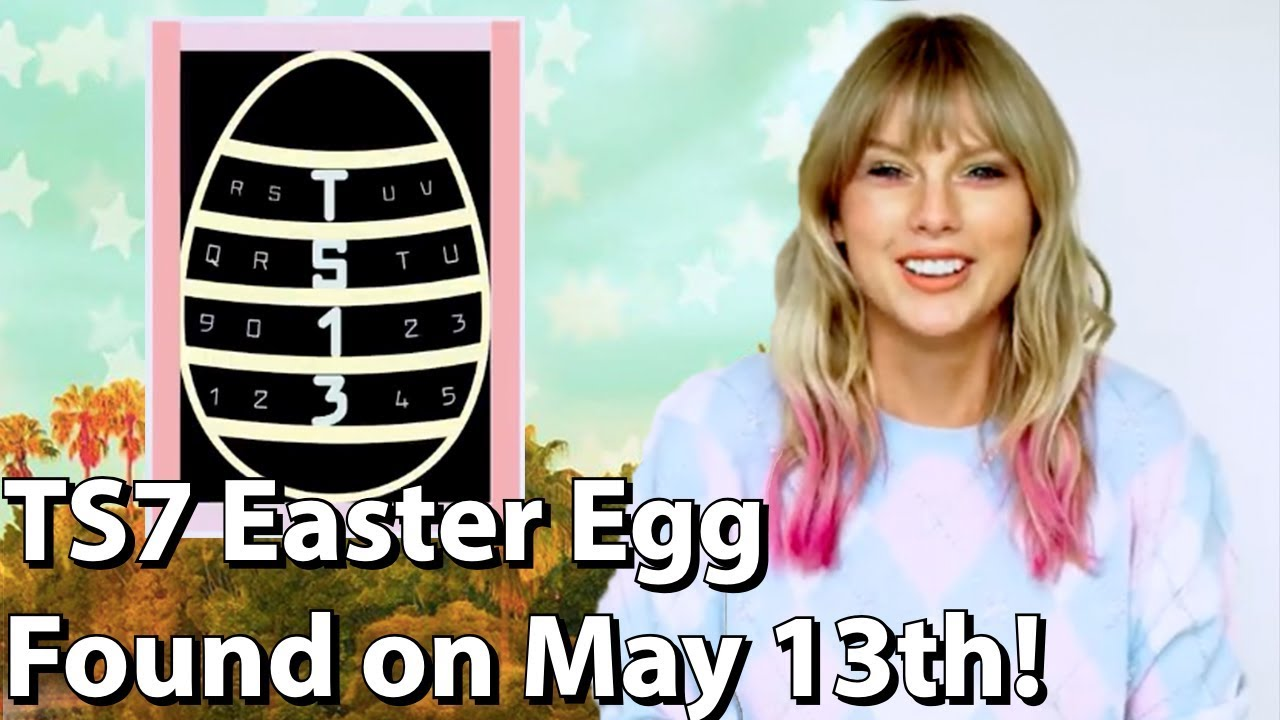 TAYLOR SWIFT ME! EASTER EGG FOUND MAY 13TH! - YouTube