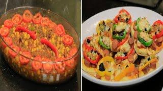 ميني بيتزا بالسوسيس والجبنة - فول باللحم المفروم - شكشوكة | الشيف حلقة كاملة