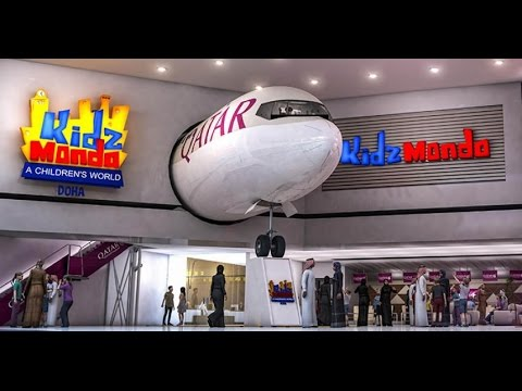 Watch Kidzmondo in mall of qatar top attraction hd video