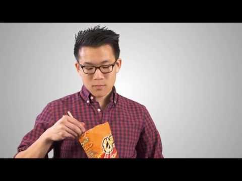 How To Eat Flaming Hot Cheetos Using Chopsticks