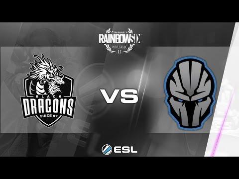 Rainbow Six Pro League 2017 - Season 1 Finals - PC - Black Dragons vs gBots - day 2