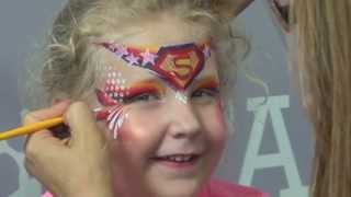 Super Cici: Face Painting Tutorial Thumbnail
