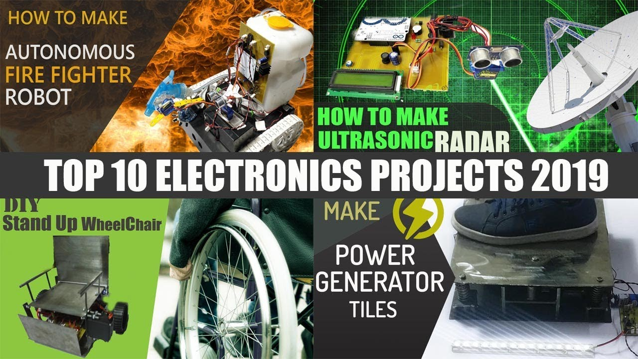 Top 10 Latest DIY Electronics Projects For Students 2019 ...