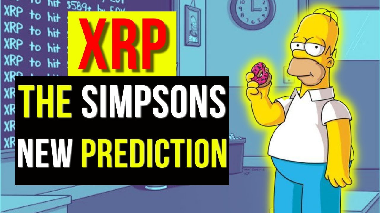 XRP- The Simpsons New XRP Prediction! (XRP Price Prediction)