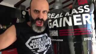 Bombunas e o Real Mass Gainer