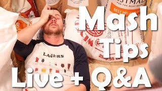 All Grain Mashing Tips for Best Efficiency, Consistency, Yield - Beer Brewing Live | Q&A